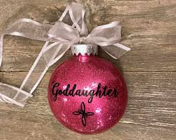 godchild ornament etsy