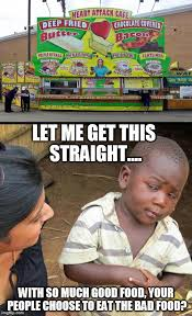 African Baby Meme - skeptical african child vs heart attack cafe imgflip