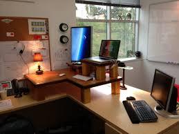 Ergonomic Office Desk Setup Multi Desk Home Office For The Setup Ideas E