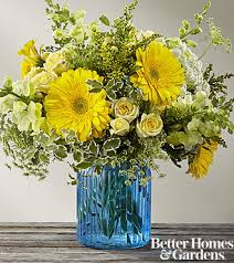ftd something blue bouquet by better homes and gardens premium