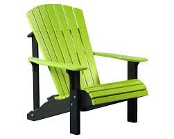 Lime Green Patio Furniture by Deluxe Adirondack Chair Patio Chairs Porch U0026 Patio Accessories