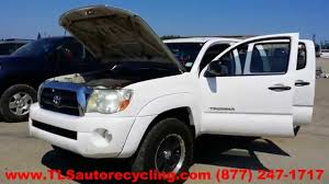 lexus tacoma parts parting out 2007 toyota tacoma stock 4075rd tls auto recycling
