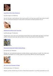 skin care hubpages com