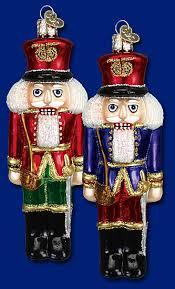 soldier nutcracker christmas glass ornaments www