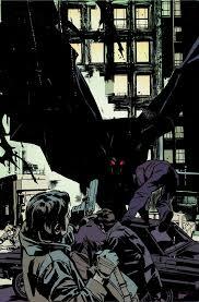 exclusive imitates comic book art batman creature