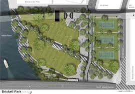 brickell green space curbed miami