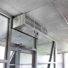 How Do Air Curtains Work Air Doors U0026 New Option Air Curtain On Dynaco High Speed Doors