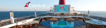 carnival sunshine cruise ship 2017 and 2018 carnival sunshine