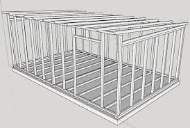 a glance at my 6x4m shed workshop plans woodwork uk