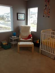 Poang Armchair Review Oscar U0027s Gray And Colorful Nursery Project Nursery