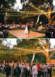 cheap outdoor wedding venues lighting for outside wedding reception lighting ideas for wedding
