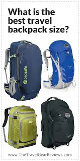 best traveling backpack images Best travel backpack size how big should my pack be jpg