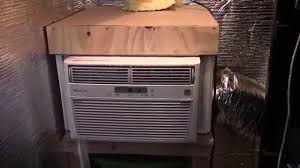 Small Air Conditioner For A Bedroom Diy Server Closet Air Conditioner Youtube