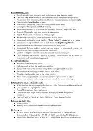 cv for trainer and teacher