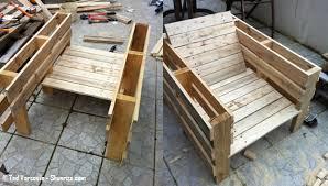 fabrication canapé en palette fabriquer un meuble avec des palettes newsindo co