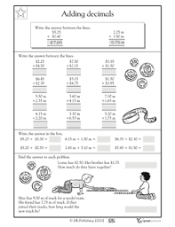 what is 5 25 2 40 this money and measurement math worksheet