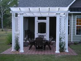 Pergola Designs For Patios by Vinyl By Design Pergola Vinyl By Design