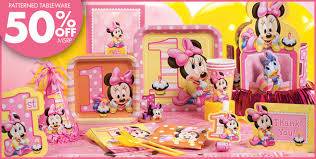 minnie mouse party supplies baby minnie mouse decorations best baby decoration