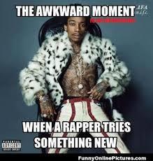 Funny Hip Hop Memes - awkward moment meme