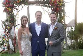bachelor wedding s bridesmaids evan s groomsmen represented bachelor nation