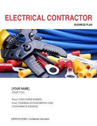 concrete contractor business plan template u0026 sample form