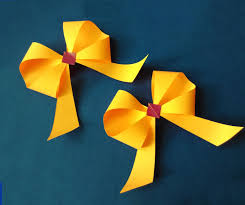 New Year Decorations With Paper by Awesome And Easy Paper Bow Or Ribbon For Gift Box Decoration