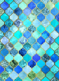 marokkanische fliesen badezimmer mit schanen marokkanischen