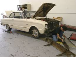 How Many Cans Of Spray Paint To Paint A Car - a 1962 ford falcon recieve a budget paint job rod network