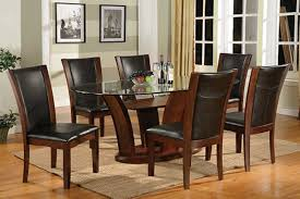 Dining Tables Canada Oval Glass Dining Table Set Best Gallery Of Tables Furniture