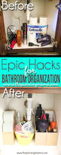 Organizing Ideas For Bathrooms 5 Crazy Easy Hacks To Keep Your Bathroom Organized The Pinning Mama