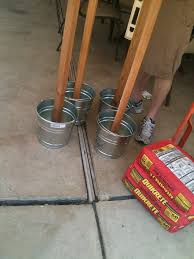 How To Clean A Concrete Patio by Party On The Patio Light Posts Tiki Torches And Torches