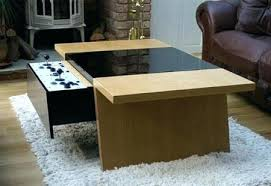 coffee table game console coolest coffee table famous coffee tables hidden storage coolest