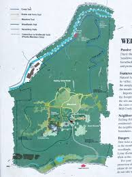 Agrarian Skies Map Tyler State Park Philly Day Hiker