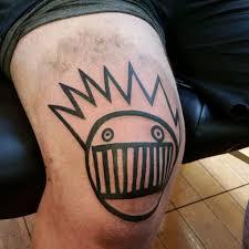 black lines face tattoo on knee best tattoo ideas gallery