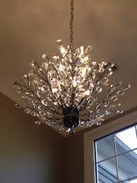 Crystal Chandelier Band Foyer Chandelier Branch Of Light Design Joshua Marshall Home