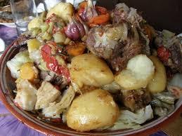cuisine de basma ragoût d agneau avec des légumes des tiges de khankissiev damlama