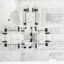 100 frank lloyd wright style house plans robie house