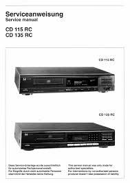 dual cd 115 rc 135 rc service