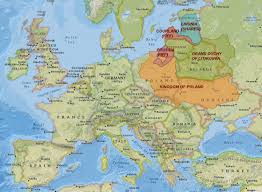 Map Of Germany And Poland by History Of Lithuania Complete Yet Brief True Lithuania