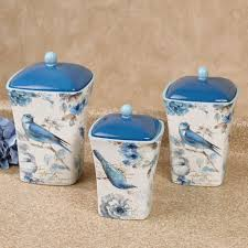blue kitchen canister set blue glass kitchen canisters blue glass canister set blue