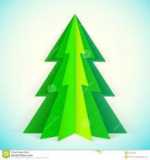 christmas tree paper christmas lights decoration