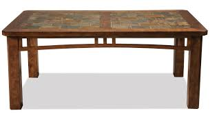 Thompson Furniture Bloomington Indiana by Riverside Furniture Preston Coffee Table W Slate Top Ahfa