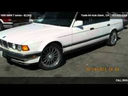 1990 bmw 7 series 1990 bmw 7 series 750il for sale in bellflower ca 90706