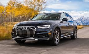 audi a4 matte black 2017 audi a4 allroad first drive u2013 review u2013 car and driver