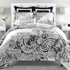 gray and white bedroom black and white damask bedding vnproweb decoration