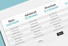 design a html table modern pricing table with html and css css html free free html