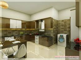 Kitchen Interiors by Modren Kitchen Design Kerala Houses Of Impressive Wooden Interior