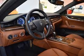 maserati car interior 2017 2017 maserati quattroporte interior at 2016 bologna motor show