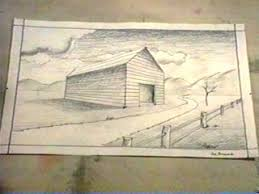 barn drawing lesson