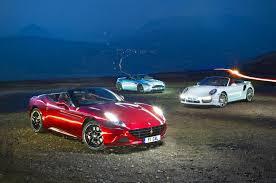 vs porsche 911 turbo california t vs porsche 911 turbo s aston v12 vantage s